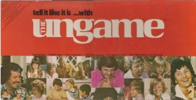 The Ungame Tell It Like It Is With (1975 Special Christian Version) Board Game