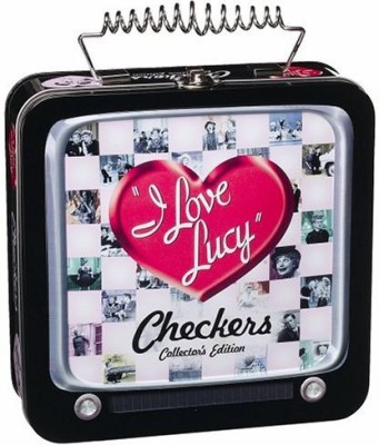 USAopoly I Love Lucy Checkers Collector,S Edition Board Game