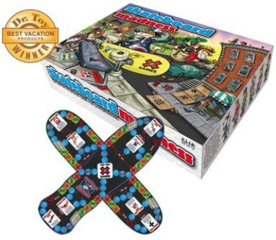 Mindtwister USA Mindtwister Skate Madness Board Game