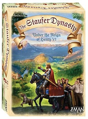 Z-Man Games The Stauffer Dynasty Board Game