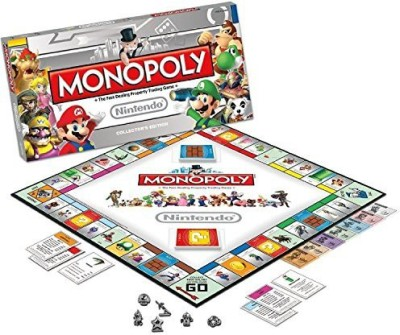 USAopoly Nintendo Monopoly Collector,S Edition Board Game