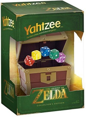 USAopoly Yahtzee The Legend Of Zelda Collector,S Edition Board Game