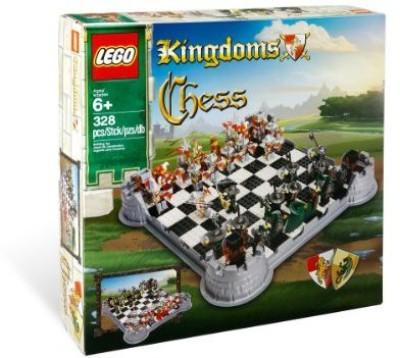Lego Kingdoms Set Chess Set (853373) Board Game