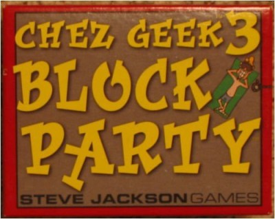 Steve Jackson Games Chez Geek 3 Block Party Board Game