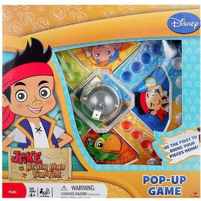 Jake & The Neverland Pirates Jake And The Neverland Pirates Popup Board Game
