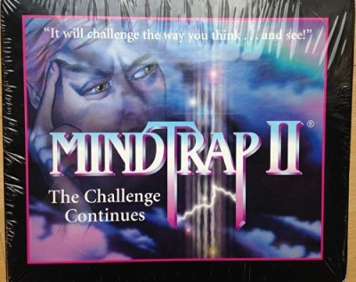 Mind Trap Mindtrap Ii 2 ~ The Challenge Continues Board Game
