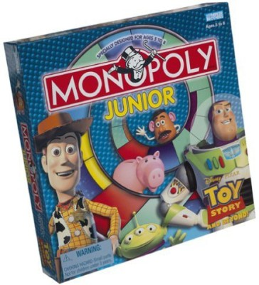 Monopoly Story Junior Board Game