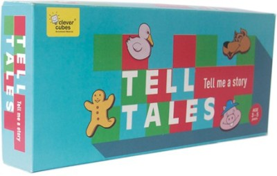 Clever Cubes Tell Tales Board Game