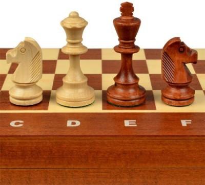 Wegiel Tournament No 4 Staunton European Wood Chess Set Board Game