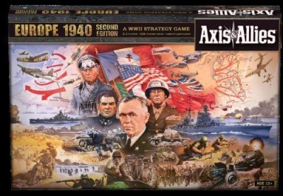 Avalon Hill Axis And Allies Europe 1940 Second Edition Board Game