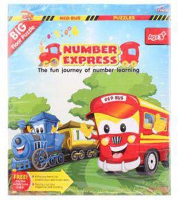 Zephyr Red Bus Number Express Board Game