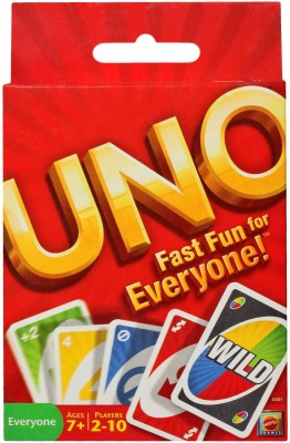 Mattel Games UNO CARDS Board Game