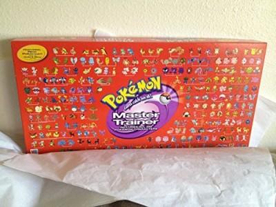 Pokemon Master Trainer 2001 Rare Red Box Version Board Game