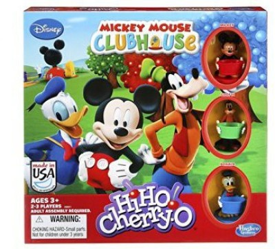 Hasbro Hiho Cherryo Disney Mickey Mouse Clubhouse Edition Board Game