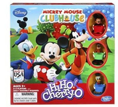 Hasbro Hiho Cherryo Disney Mickey Mouse Clubhouse Edition Board Game