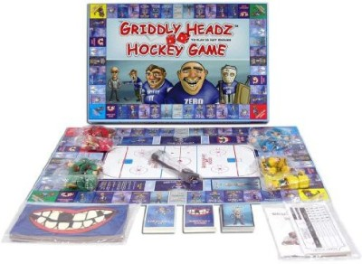 Griddly Games Headz Hockey Family Fun Strategy Board Game