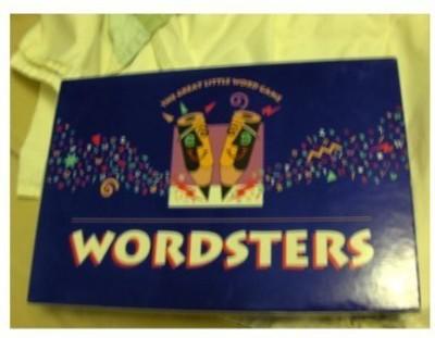 Milton Bradley Wordsters Board Game