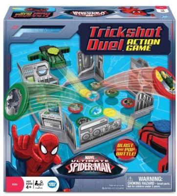Wonder Forge Spiderman Trickshot Duel Board Game