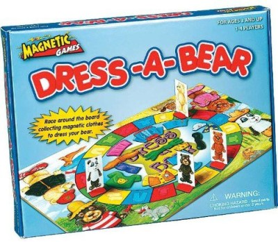 Patch Products Inc. Dressabear Magnetic Board Game