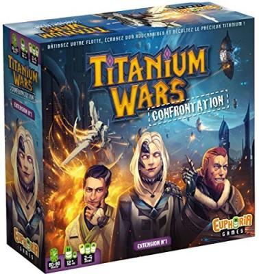 IELLO Titanium Wars Confrontation Board Game