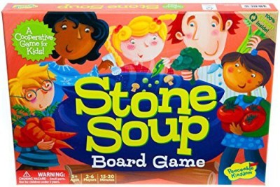 Peaceable Kingdom Stone Soup Award Winning Cooperative For Kids Board Game