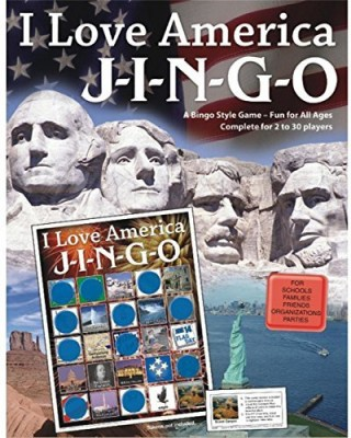 GARY GRIMM & ASSOCIATES Jingo I Love America Board Game
