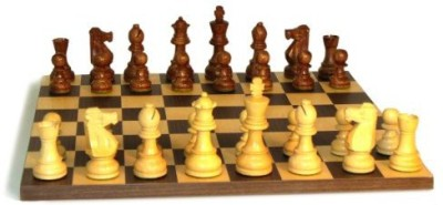 WorldWise Chess Sheesham French Chess Set Board Game