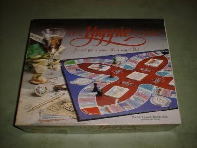 Waddingtons The Yuppie Board Game The Yuppie Board Game