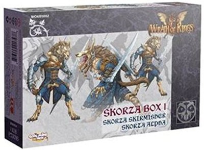 CoolMiniOrNotInc. Wrath Of Kings Goritsi Skorza Box I Board Game