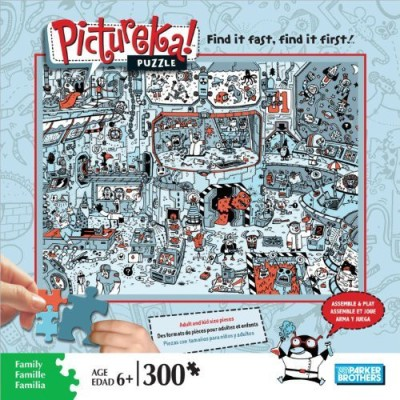 Pictureka Puzzle Parker Brothers Space Setting Item No 0447002 Board Game