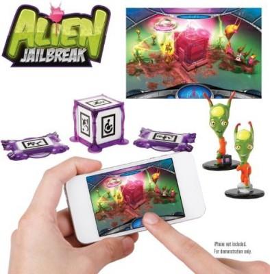 WowWee W0160 Appgear Alien Jail Break Edition Mobile Application Board Game