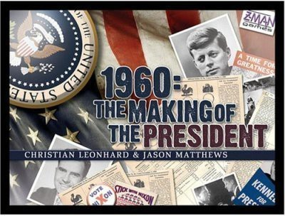Z-Man Games 1960 The Making Of The President Board Game