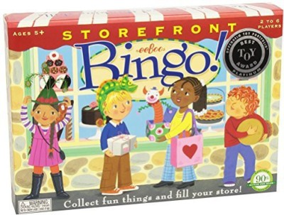 eeBoo Storefront Bingo Board Game
