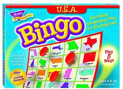 Trend Enterprises Inc Usa Bingo Board Game