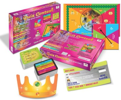 Happy Kidz Brainy Quiz Contest Educational Board Game Board Game