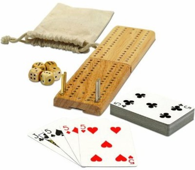 WE Games Cribbage And More Travel Pack Board Game
