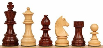 The Chess Store German Knight Staunton Chess Set In Rosewood & Boxwood Board Game