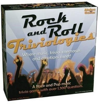 Aleken Games Rock & Roll Triviologies Board Game