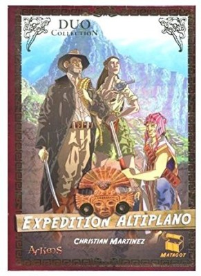 Asmodee expedition altiplano Board Game