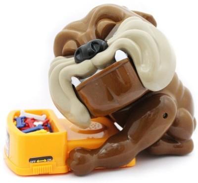 CHAMUNDA GIFTS baddog1 DOG Gag Toy(Brown)