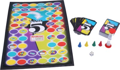 Endless Games Name 5 Board Game