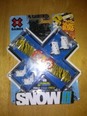 X Games Finger Snow Forum Manual Snow /Constant Boots Board Game
