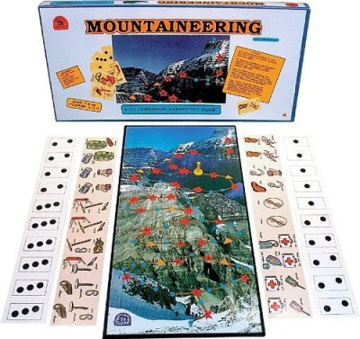 Family Pastimes Mountaineering A Cooperative Adventure Board Game