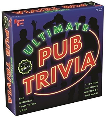 University Games Ultimate Pub Trivia Board Game