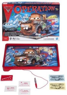 Operation Disney Pixar Cars 2 Edition Board Game