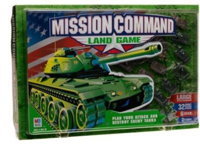 Milton Bradley Mission Command Land Board Game