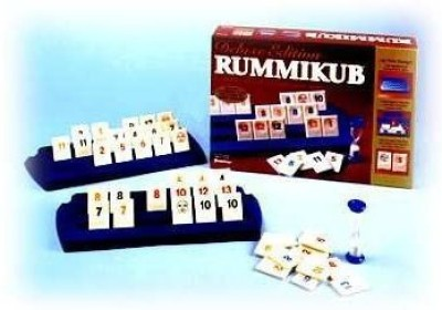 Pressman Toy Deluxe Edition Rummikub Board Game