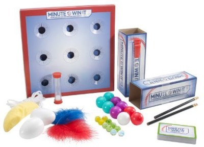 Mattel Nbc,S Minute To Win It Board Game