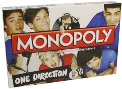 Winning Moves UK One Direction Monopoly Board Game