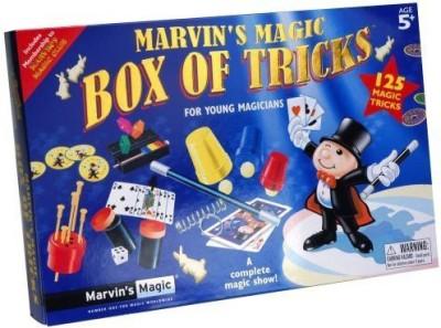 Marvin,s Magic Ian Box Of Tricks 125 Trick Set Board Game